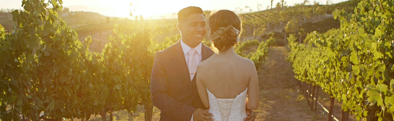 Falkner Winery Temecula Wedding Film: Lindsay + Joshua